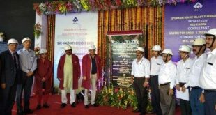 Rebuilt Blast Furnace 'Parvati' of Rourkela Steel Plant dedicated to nation