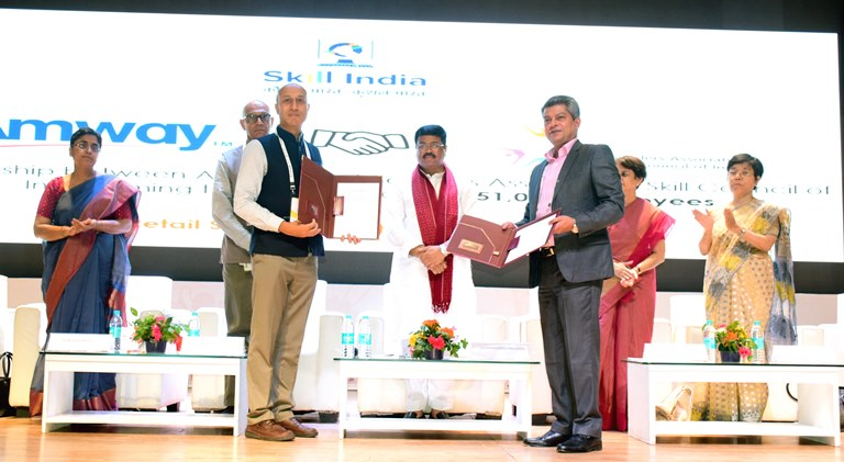 Amway India partners with Ministry of Skill Development for Skill India initiative