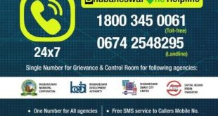 Bhubaneswar One unified helpline number launched for all city services