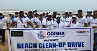 Massive beach clean-up drive initiated for Hockey Men's World Cup 2018