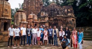 Scholars from US, solo biker from Cuttack join 85th Ekamra Walks