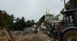 Joint eviction drive makes govt land free from encroachment near ISKCON temple
