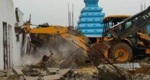 Joint eviction drive ends at Nayapalli Haza