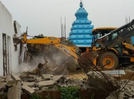 Joint eviction drive ends at Nayapalli Haza