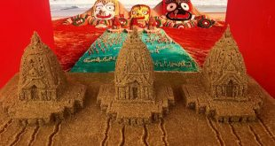 Rath Yatra: Sudarsan creates world's smallest sand chariots