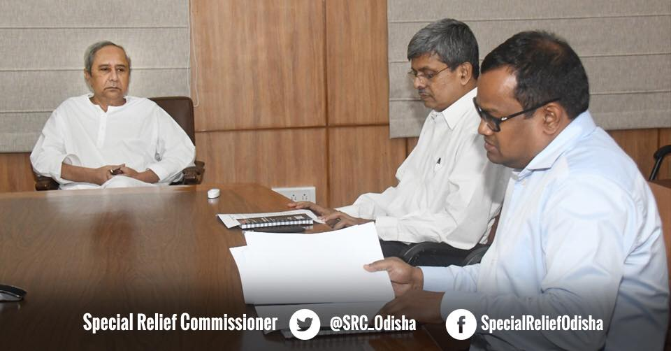 Naveen reviews possible flood situation in Odisha