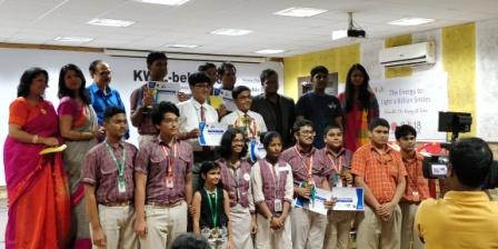 KWIZ-bel 2018 organised at Chandrasekharpur DAV Public School