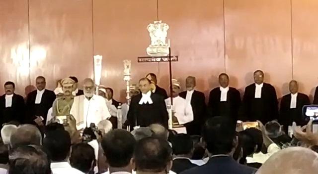 Kalpesh Satyendra Jhaveri sworn in as Orissa HC chief justice