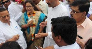 Maoist leader Sabyasachi's wife Mili Panda joins Congress