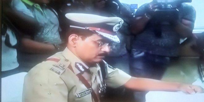 Police Commissioner Satyajit Mohanty