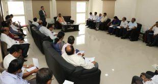 Petroleum Minister reviews preparation for SC-ST Conclave-2018