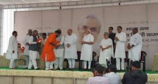 Urn of Vajpayee's ashes reaches Bhuaneswar, to be immersed at Puri
