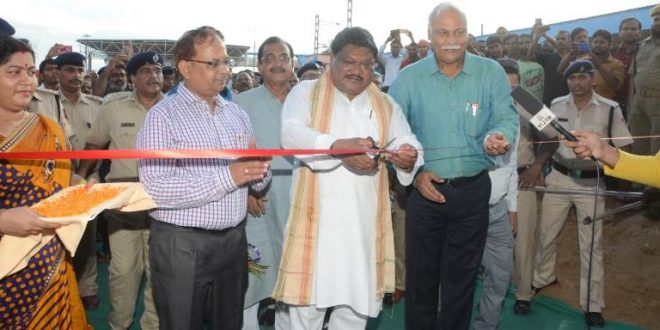 Station building, foot over-bridge inaugurated at Bhadrak Railway Station
