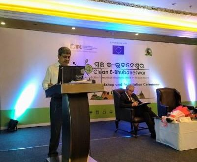 Padhi calls for replication of BMC's e-waste experience in other ULBs, Clean E-Bhubaneshwar