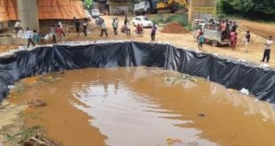 BMC constructs ponds for idol immersion