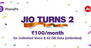 2nd anniversary: Jio gives Rs 100 discount on highest selling plan