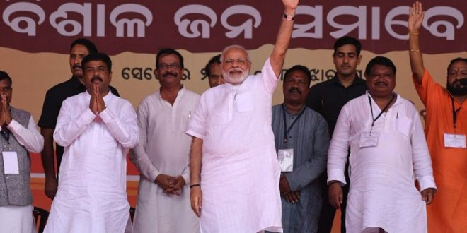 Modi slams Naveen for not implementing Ayushman Bharat