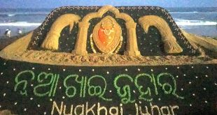People celebrate Nuakhai in western Odisha