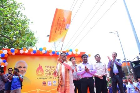 Mobile LED Vans to disseminate awareness on PMUY in Odisha