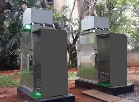 60 prefabricated stainless steel toilets across Bhubaneswar
