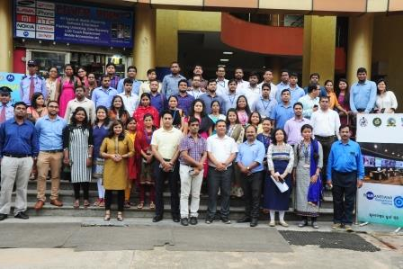 OAS probationers visit Bhubaneswar Operations Centre