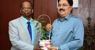 Sridhar Patra takes over charge as Nalco Director