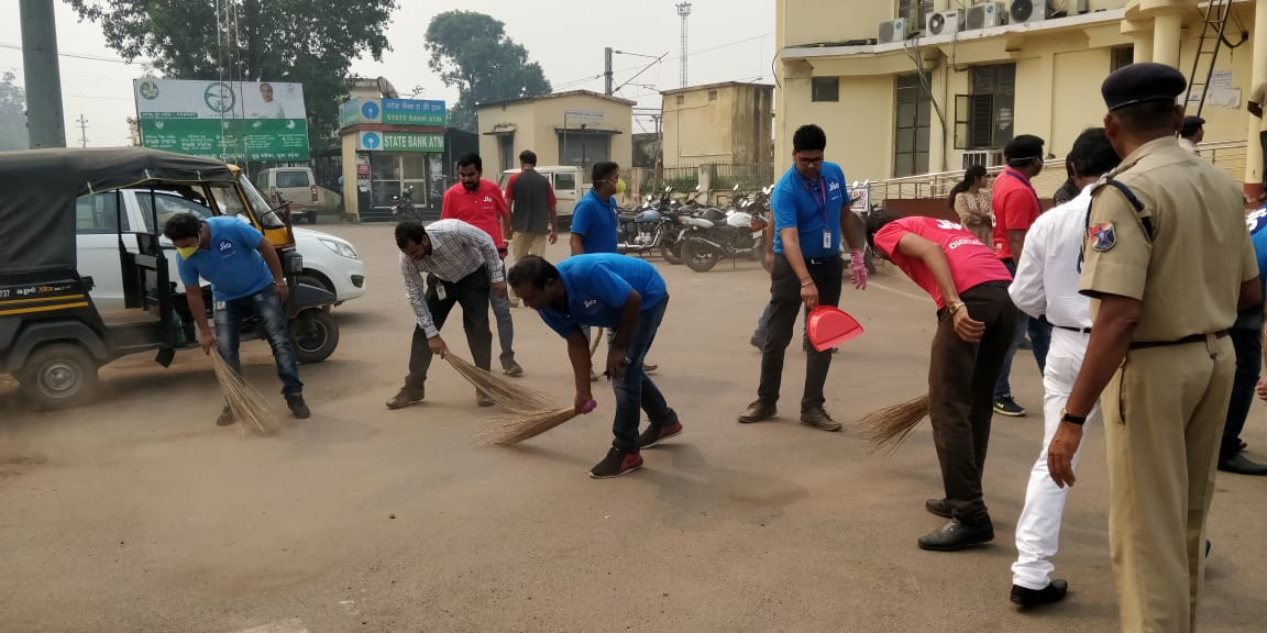 Jio Odisha lends support to Swachhata Hi Sewa movement