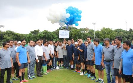 Bureaucrat XI lifts 12th Edition of Tata Steel Friendship Cup Football Tournament-2018