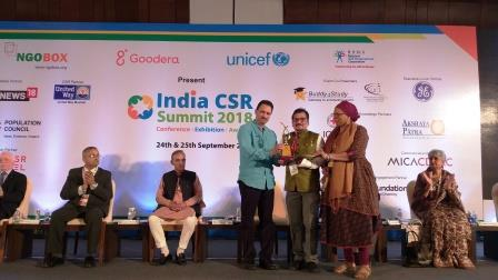 JSPL wins prestigious NGOBOX CSR Impact Award