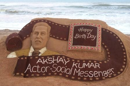 Sandy birthday gift to Akshay Kumar from Sudarsan