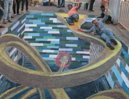 International 3D street artists to give Temple City its artistic STAMP