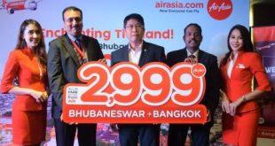 AirAsia introduces direct flight between Bhubaneswar-Bangkok
