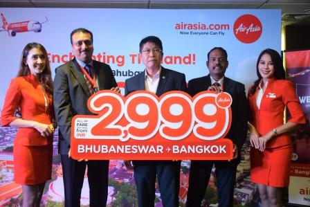 AirAsia introduces direct flight between Bhubaneswar-Bangkok