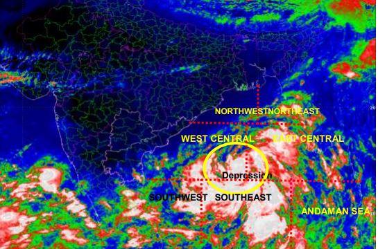 IMD issues cyclone warning for Odisha, Andhra Pradesh
