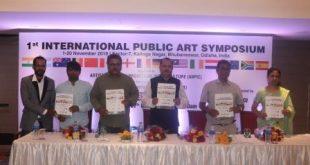 International public art symposium in Bhubaneswar by ANPIC