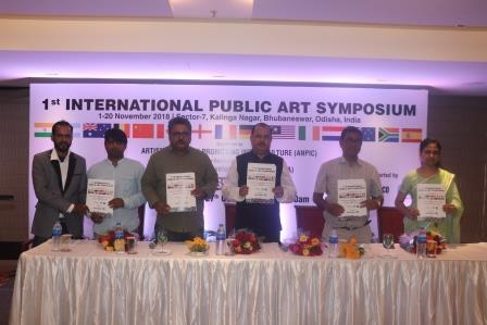 International public art symposium in Bhubaneswar by ANPIC