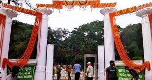 Naveen lays foundation stone of Odia University at Satyabadi