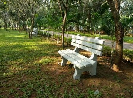 Park furniture start arriving in select city parks in Bhubaneswar