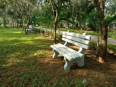 Park furniture start arriving in select city parks in Bhubaneswar