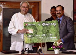 CM launches Odyssey City Card for citizens in Bhubaneswar