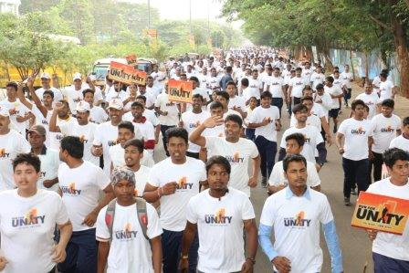 Thousands participate in 'Run For Unity' Marathon