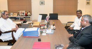 UN Assistant Secretary-General Satya Tripathi meets Odisha CM