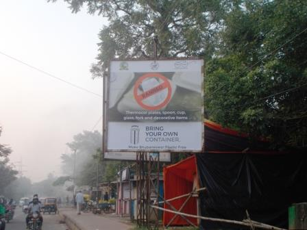 BMC places hoardings on campaign against use of plastic