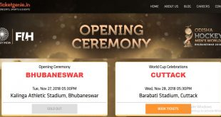 Odisha Hockey Men's World Cup: Website for online sale of tickets crashed