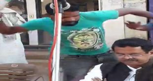Kharabela Swain attacked in Rayagada