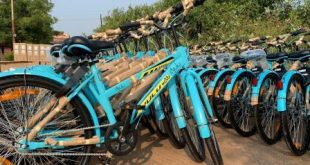 Cycles for public bicycle sharing project start arriving in the city