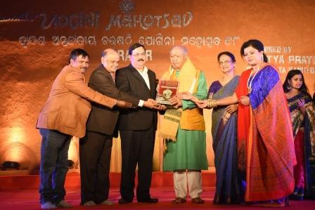Pandit Hariprasad Chaurasia gets NALCO Sangeet Sudha Award
