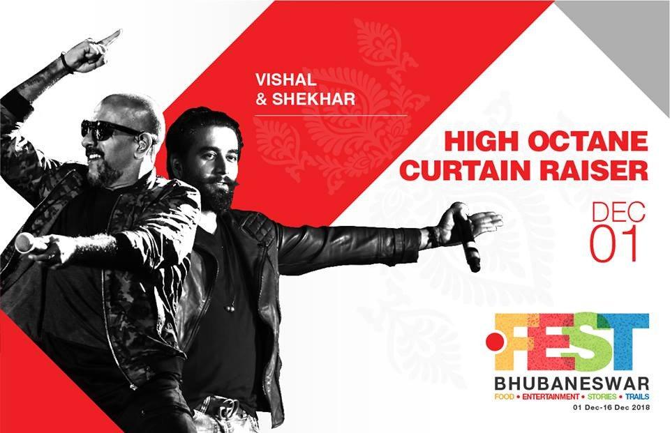 Vishal, Shekhar dazzle at Bhubaneswar City Festival