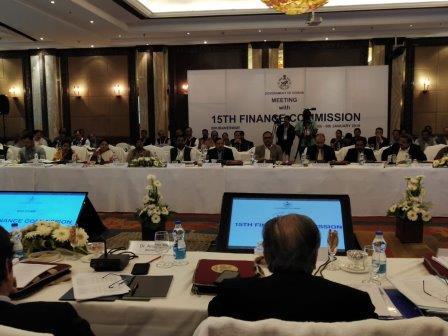 15th Finance Commission meets PRI, ULB representatives