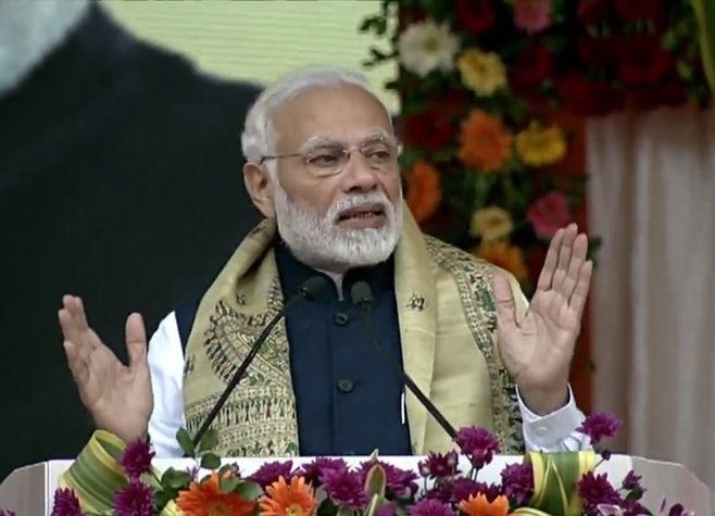 PM Modi launches projects worth Rs 4,500 crore in Odisha